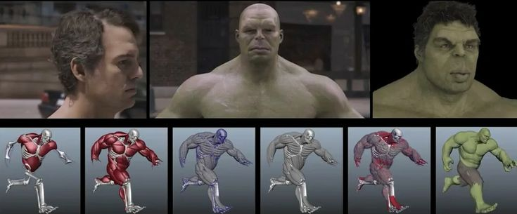 Industrial Light and Magic has published another priceless making of Hulk character in The Avengers