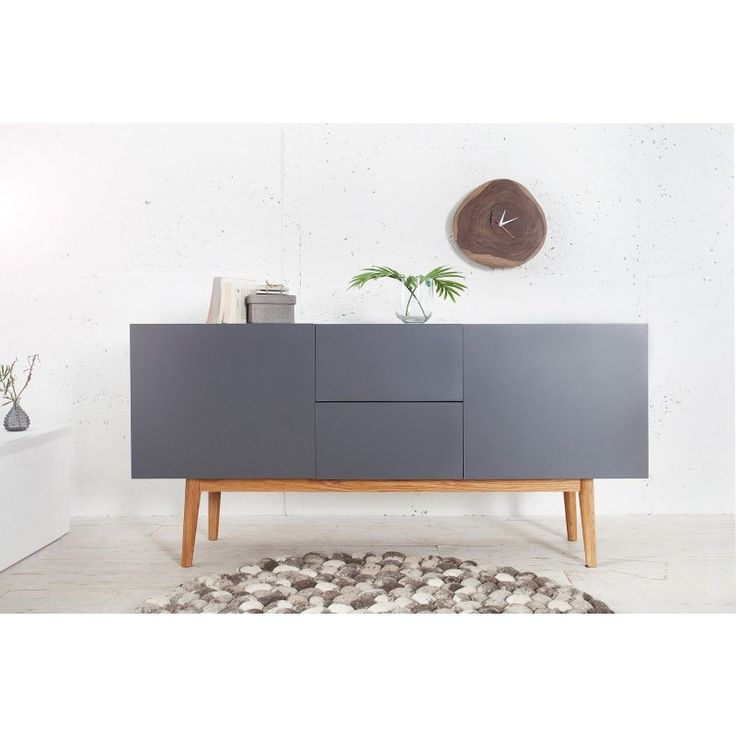 Modern dressoir lisboa 150 cm graphit - 36306