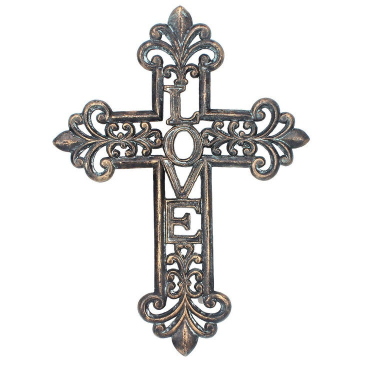 17 best images about decorative crosses on pinterest for Deco metal mural