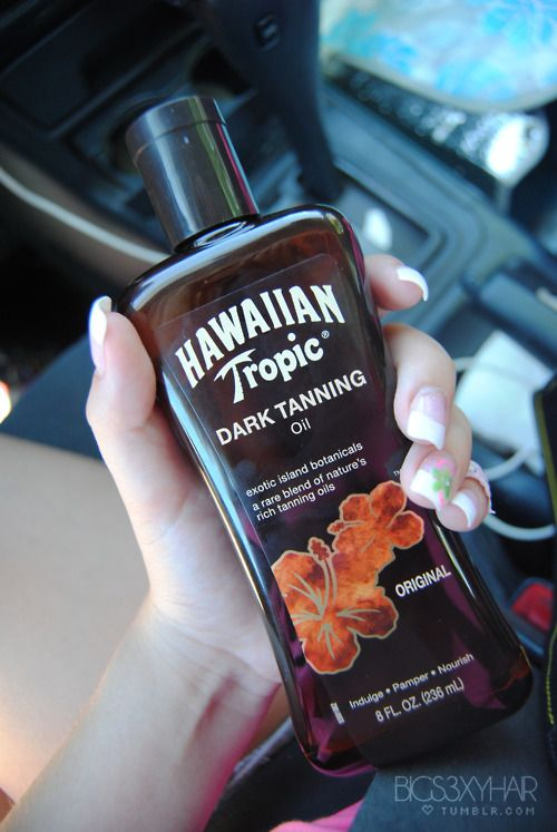 Hawaiian Tropic tanning oil works great as well. Unfortunately It cant be used in tanning beds. Only standups or outdoors.