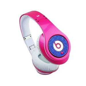 Monster Beats Studio Diamond Limited Edition Pink SlateBlue,#monster beats dre,#monster headphone