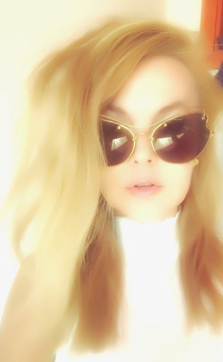 Miu Miu sunglasses Scenique ,56 RS , Antique Gold