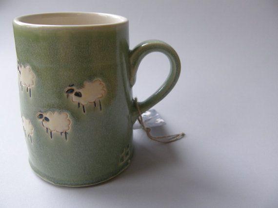 Sheep mug. Want this!