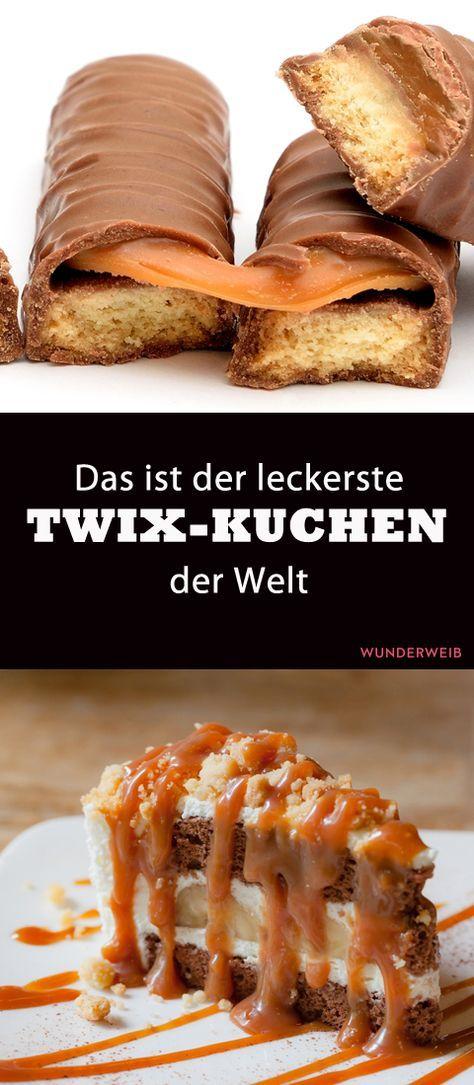 Riesiger Twix-Kuchen: Rezept für eine starke Kombi aus Schoko und Karamell