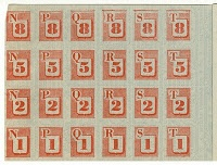 US red ration stamps from War Ration Book Two, used for meat, cheese, fats, and oils. Fats and oils were rationed starting 29 March 1943. Lard was removed from rationing 3 March 1944, shortening and oils on 19 April 1944, but butter and margarine were rationed until 23 November 1945.