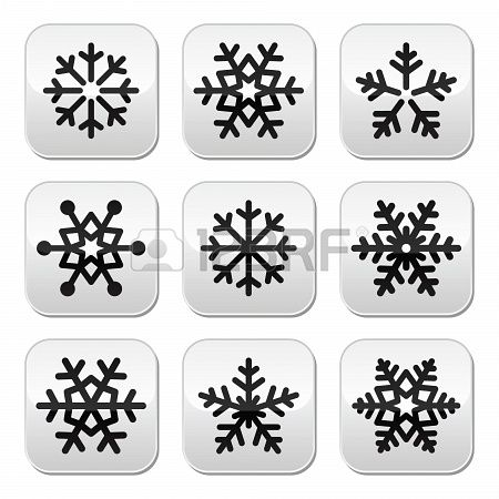 #Snowflake #winter vector