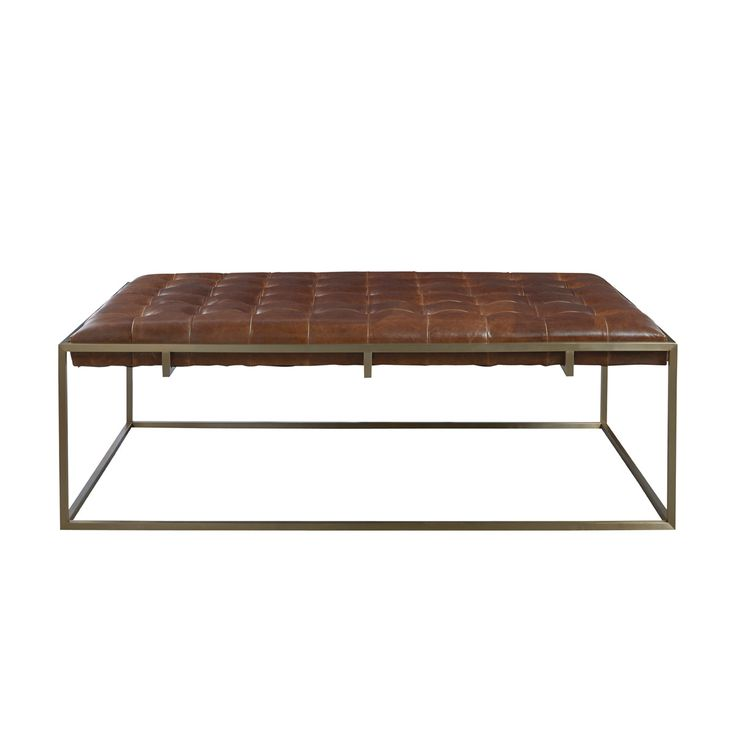 Product Info Dimensions Construction LAWRIE LEATHER UPHOLSTERED COFFEE TABLE - TAN LEAD TIME Approximately 12 Weeks DELIVERY CHARGES I'm thrilled to offer free