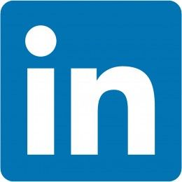 #LinkedIn uses the last part of their platform name Linked(in) as their icon logo.