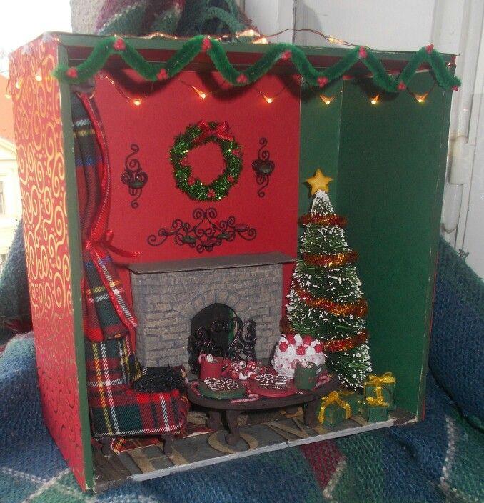 Christmas roombox