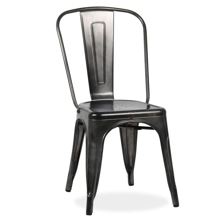 10 idee n over metalen stoelen op pinterest metalen eetkamerstoelen boerderij tafel stoelen - Tafel salle a manger ontwerp ...