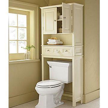 Toilet+Space+Saver | common bathroom space savers above toilet cabinet …   – DIY ideas