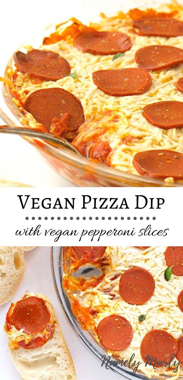 Vegan Pizza Dip Recipe Tasty Vegan Pepperoni Pizza Dip In 2020 Vegan Pepperoni Pizza Vegan Pepperoni Vegan Recipes Easy