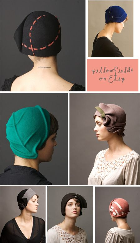 variations on a hand manipulated, sculptured cloche #millinery #cloche #judithm