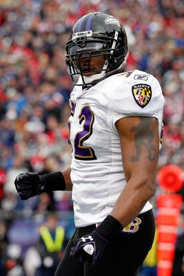 Ray Lewis.  The greatest middle linebacker to play the game!   He will be missed in Baltimore! He's truly loved by Ravens fans