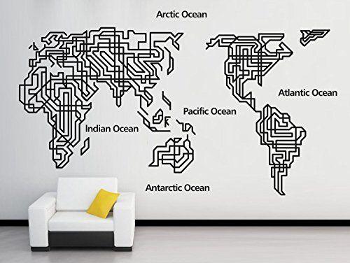 Gran mapa del mundo pared pegatinas vinilo decorativo comillas PVC vintage decoración del hogar decoración mural de papel tapiz - http://vivahogar.net/oferta/gran-mapa-del-mundo-pared-pegatinas-vinilo-decorativo-comillas-pvc-vintage-decoracion-del-hogar-decoracion-mural-de-papel-tapiz/ -