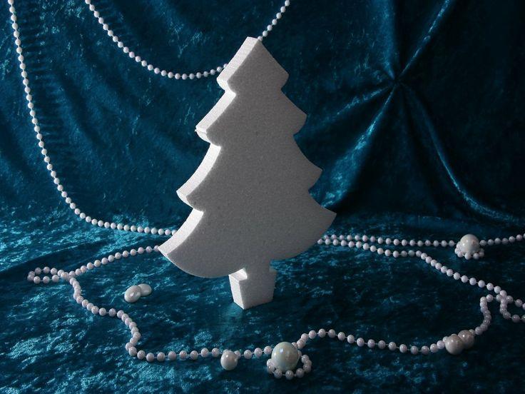 """""""Piepschuim/Styropor - Kerstboom"""" VAN € 2,95 VOOR € 2,45 www.mozaiektegeltjes-enzo.nl"""