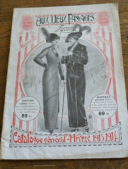 Aux deux pasages ... katalog zboží zima 1913 - 14