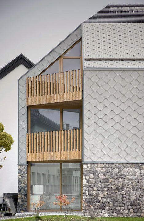 balustrades Alpine Ski Apartments by OFIS Arhitekti