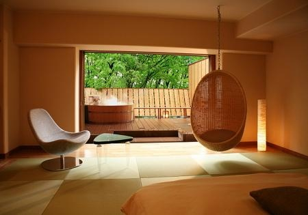 Japanese style modern room