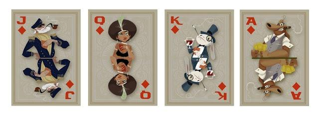 Sam and Max cards - Derek Stratton