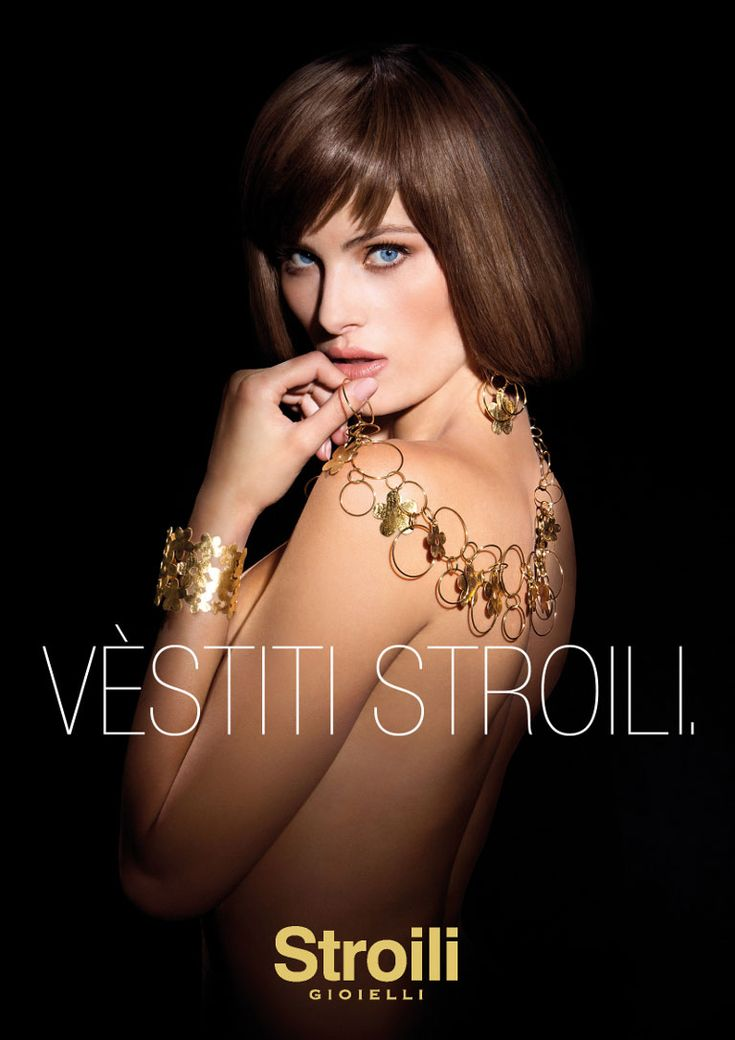 Isabeli Fontana Sparkles in Stroili Oro 2013 Campaign | Fashion Gone Rogue: The Latest in Editorials and Campaigns