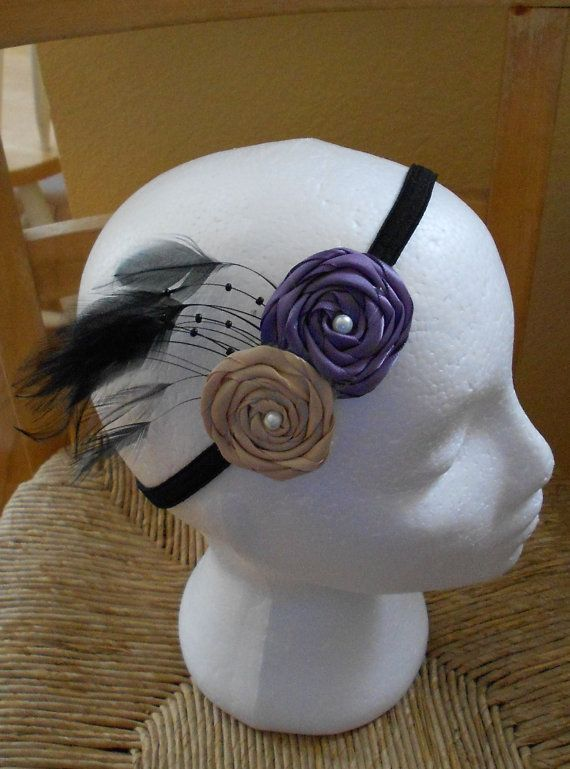 Vintage Inspired Plum & Caramel Ribbon by chhunneangboutique, $7.00
