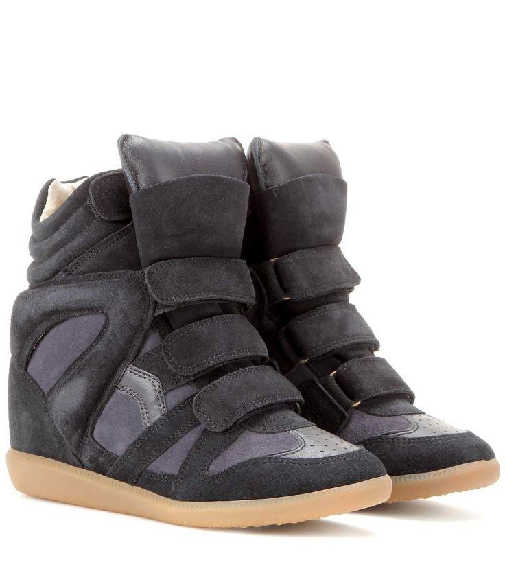 42f4468699c mytheresa.com - Baskets Compensées En Daim Bekett ☆ Isabel Marant ◊  mytheresa - Luxe et Mode pour femme - Vêtements