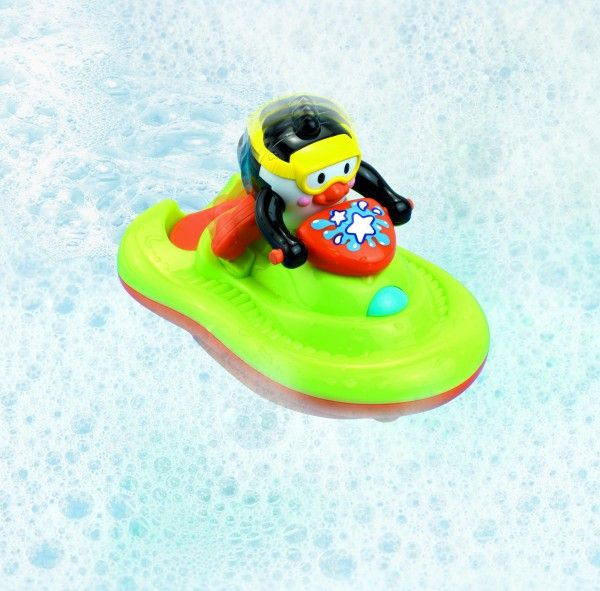 SKI-JET CADITA URS - Jucarii pentru baie - Jucarii bebe - Jocuri si jucarii. 06.04.17