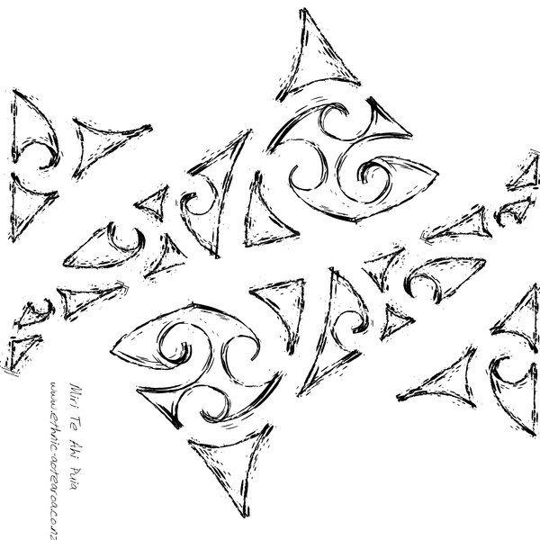 kowhaiwhai patterns - Google Search