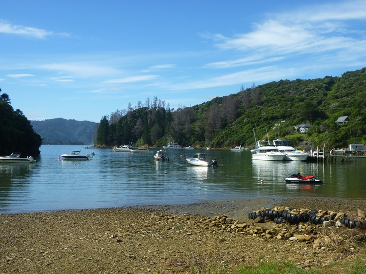Queen Charlotte Sounds.