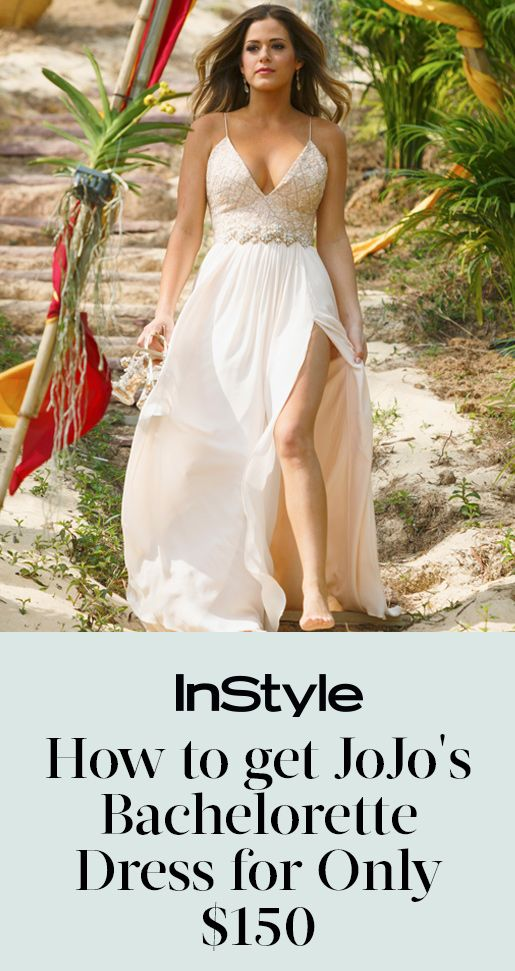 How to Get JoJo's Bachelorette Finale Dress for Only $150 from InStyle.com