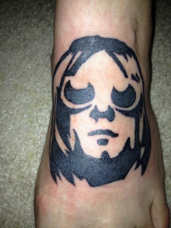 My Kurt Cobain tattoo | Tattoo Ideas | Pinterest | Kurt ...