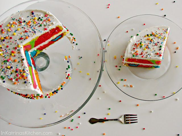 Rainbow Swirl Cake from @KatrinasKitchen, @Jamie Martin can you make this for me?