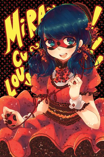 Marinette in a cute dress (Miraculous Ladybug)