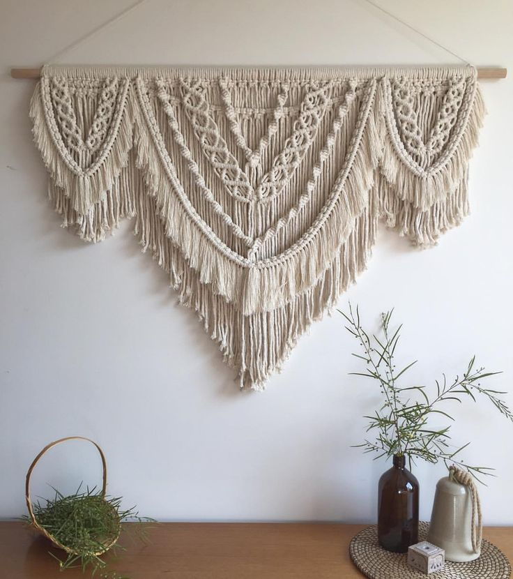 Best 25+ Large Macrame Wall Hanging Ideas On Pinterest