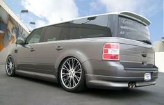 customized ford flex | CFM FLEX with NEW 3d carbon body kit