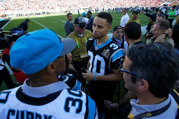Stephen Curry Photos Photos - Super Bowl 50 - Carolina Panthers v Denver Broncos - Zimbio