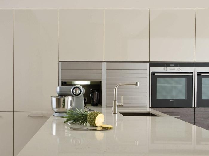 Leicht Kitchen Range   Elan Kitchens Ltd  In A Taupe Grey