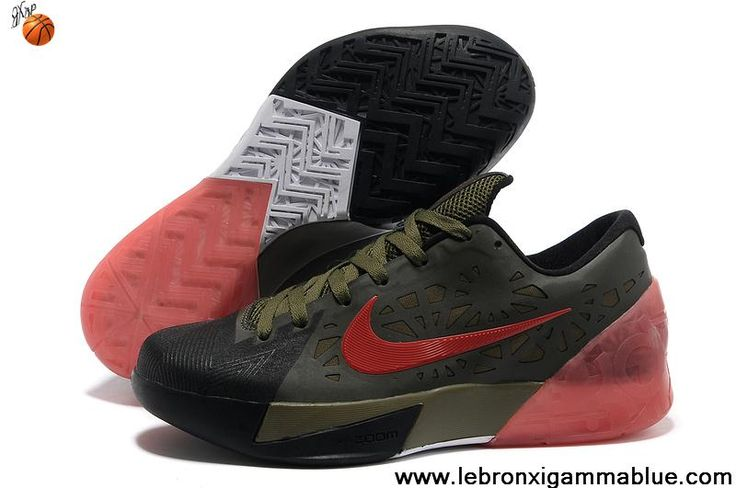 Buy Black Army Green Red Nike Zoom KD 6 For Sale