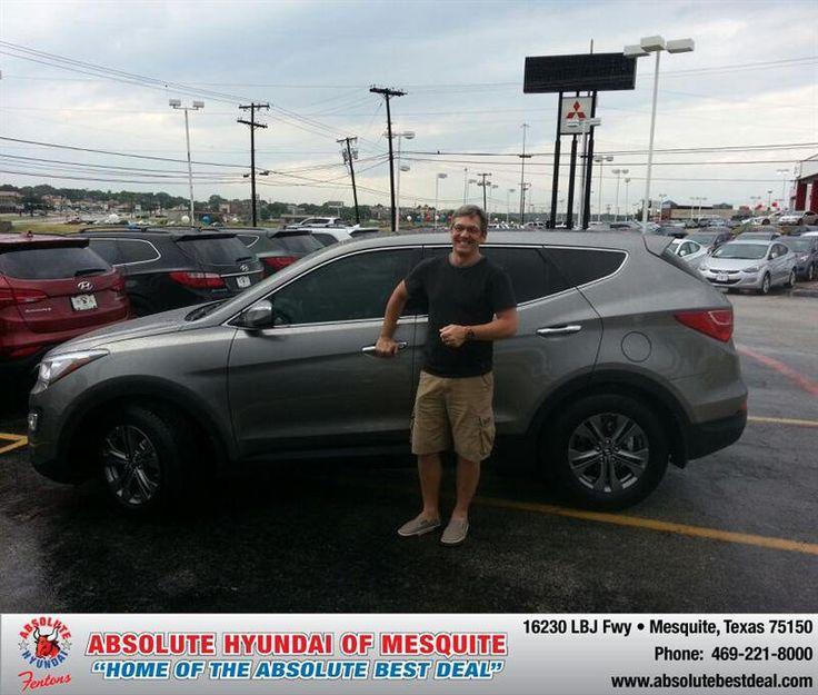#HappyAnniversary to Richard Motta on your 2013 #Hyundai #Santa Fe from Troy Cox at Absolute Hyundai!