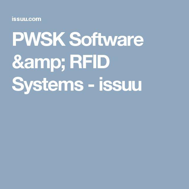 PWSK Software & RFID Systems - issuu