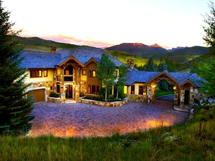 10 images about dream homes mountain contemporary on for Mountain dream homes