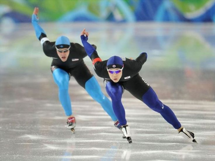 Speed skating - flying inspiration!