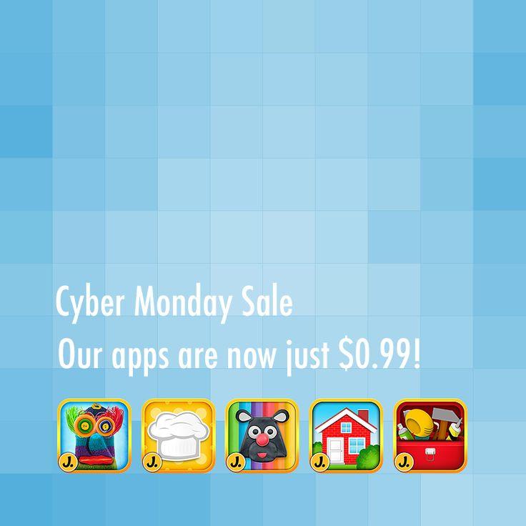 PUPPET WORKSHOP https://itunes.apple.com/us/app/puppet-workshop-creativity/id595970717  CUTE FOOD https://itunes.apple.com/us/app/cute-food-cooking-app-for-kids/id648773321  IMAGINATION BOX https://itunes.apple.com/us/app/imagination-box-colors-shapes/id698092635  LITTLE HOUSE DECORATOR https://itunes.apple.com/us/app/little-house-decorator/id566278824  TOY REPAIR WORKSHOP https://itunes.apple.com/us/app/toy-repair-workshop/id705081841