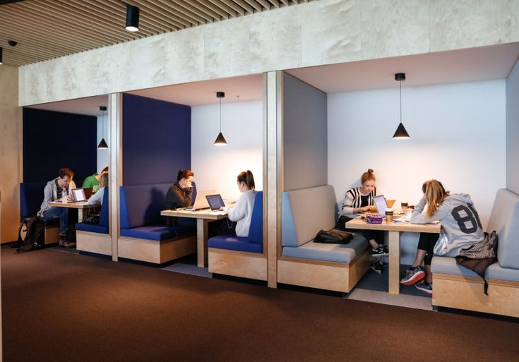 Snell Library Book Study Room