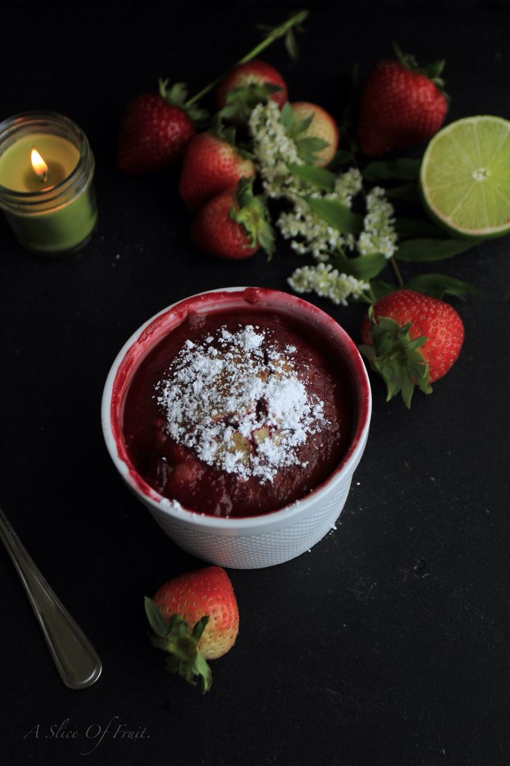 Summer Fruit Pudding.
