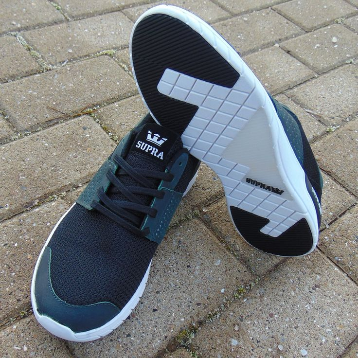 Easy to wear, comfortable, running heritage trainers from Supra.  We are talking the Scissor.