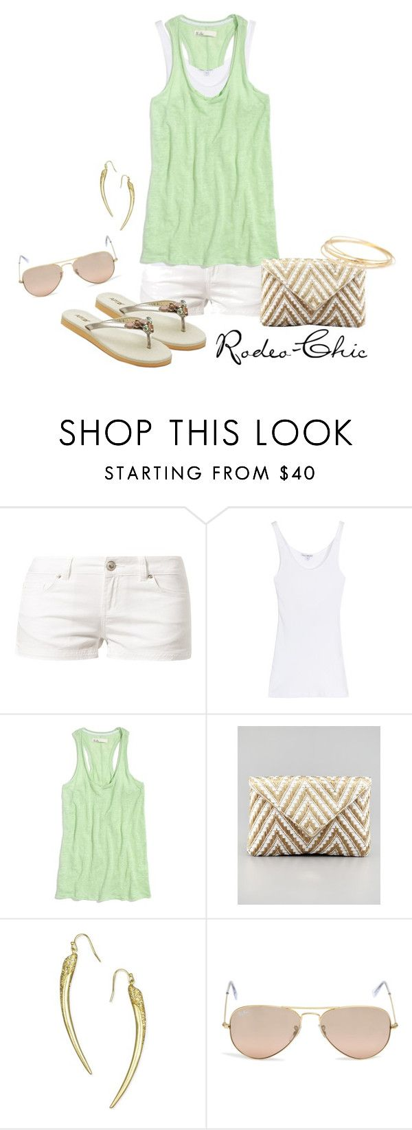 """Drive South"" by rodeo-chic ❤ liked on Polyvore featuring LTB by Little Big, James Perse, Madewell, Elaine Turner, Apt. 9, Rachel Rachel Roy and Ray-Ban"