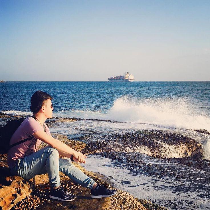 Hey how r u? #sea by dom_ontheway