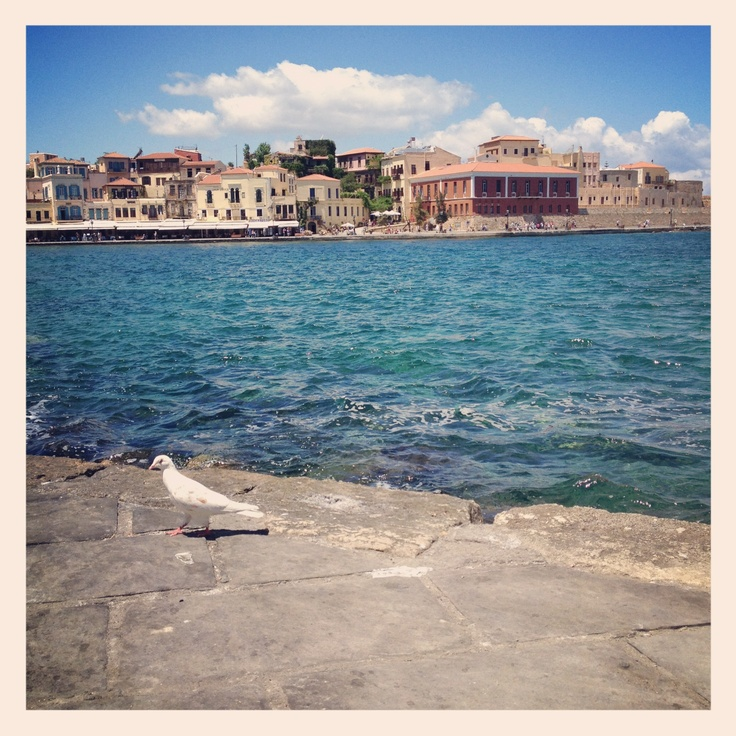 Chania, Peace Pigeon